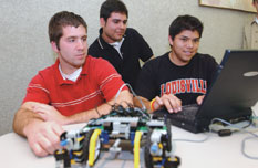 electrical and computer engineering students